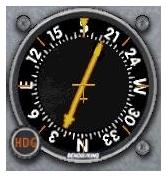 ADF-3 L'indicatore a bordo